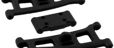 Assoc. SC10GT, GT2, T4* & SC10* Front A-arms – Black