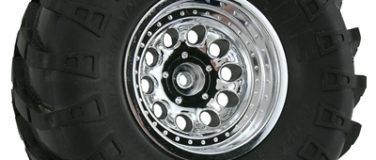 Chrome Revolver Rock Crawler Wheels – Wide Wheelbase