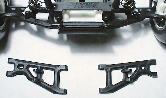 Front Arms for the Assoc. GT, RC10T, & T2 - Black