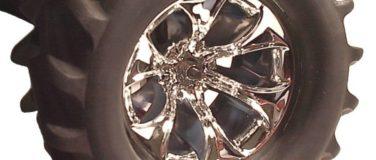 Titan StableMaxx Offset Chrome Monster Truck Wheels