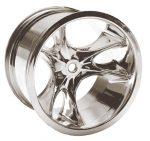 Monster Clawz Standard Offset Chrome Wheels