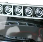 Roof Mounted Light Bar Set – Chrome