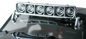 Roof Mounted Light Bar Set - Chrome