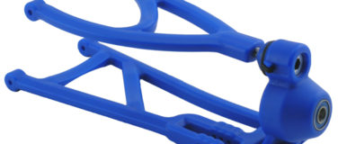 Traxxas Revo True-Track Rear A-arm Conversion Kit – Blue