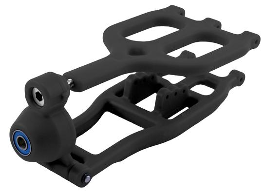 Traxxas T/E-Maxx True-Track Rear A-arm Conversion - Black