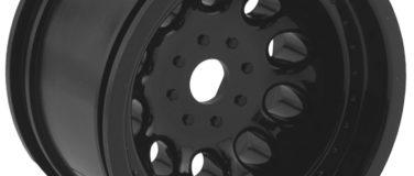 Black Revolver Monster Truck Wheels, StableMaxx Offset – 17mm