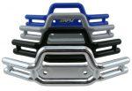 Traxxas Revo Tubular Front Bumper - Dyeable Silver