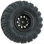 Black Revolver Rock Crawler Wheels - Narrow Wheelbase