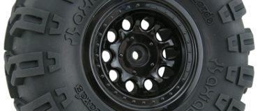 Black Revolver Rock Crawler Wheels – Narrow Wheelbase
