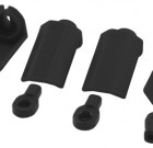 Black Shock Shaft Guards for Traxxas & Durango 1/10th Scale Shocks