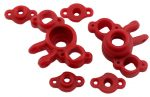 Red Axle Carriers for the Traxxas 1/16th Scale Mini E-Revo & Mini Slash