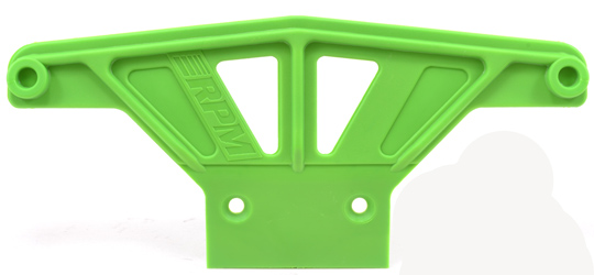 Wide Front Bumper for Traxxas Rustler & Stampede - Green
