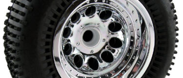 Revolver Chrome Front Wheels