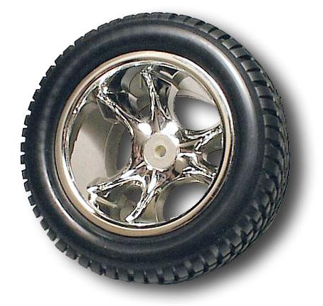 Clawz Chrome Rear Wheels