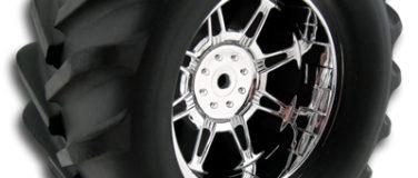Monster Spider StableMaxx Offset Chrome Monster Truck Wheels