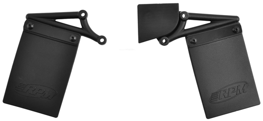 Mud Flaps & Number Plate Kit for the Losi Ten-SCTE