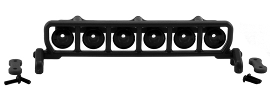 Roof Mounted Light Bar Set - Black