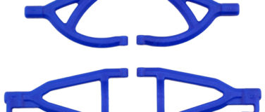 Rear A-arms for the Traxxas 1/16th Scale Mini E-Revo – Blue