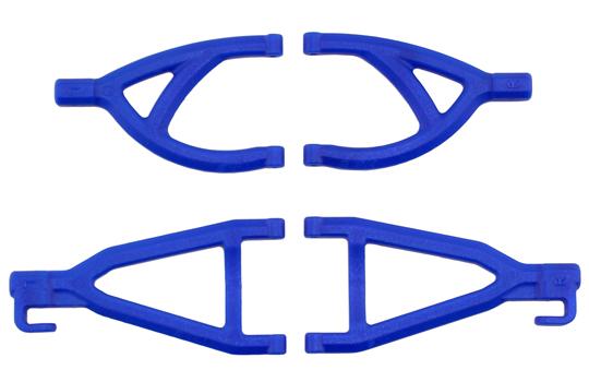 Rear A-arms for the Traxxas 1/16th Scale Mini E-Revo - Blue