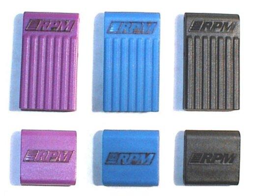 T/E-Maxx Bulkhead Braces - Blue