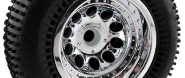 Revolver Chrome Rear Wheels