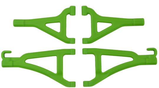 Front A-arms for the Traxxas 1/16th Scale Mini E-Revo - Green