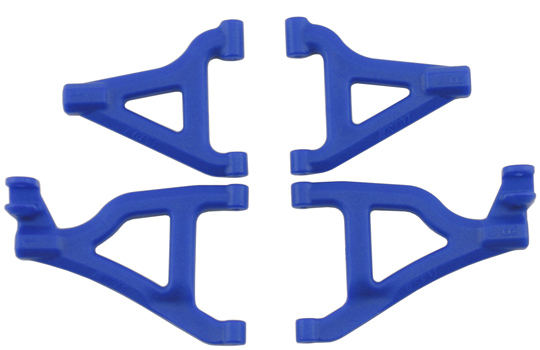 Front A-arms for the 1/16th Scale Slash 4x4 - Blue