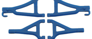 Front A-arms for the Traxxas 1/16th Scale Mini E-Revo – Blue