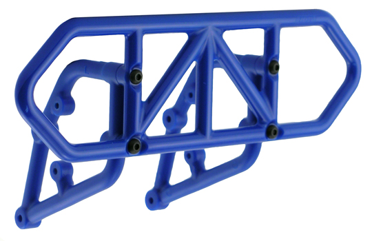 Blue Rear Bumper for the Traxxas Slash 2wd