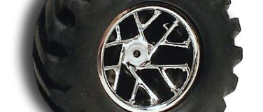 Slingshot Chrome Front Wheels