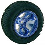 Clawz Blue Chrome Front Wheels