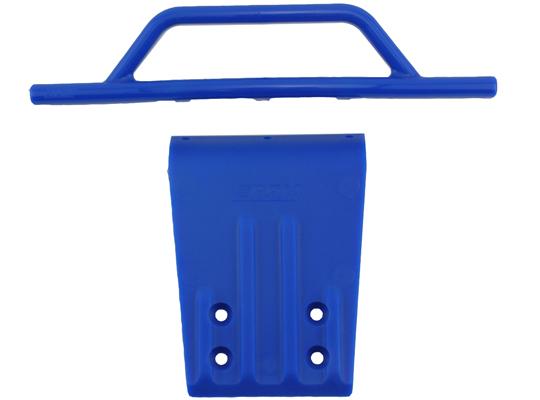 Front Bumper & Skid Plate for the Traxxas Slash 2wd & Nitro Slash - Blue