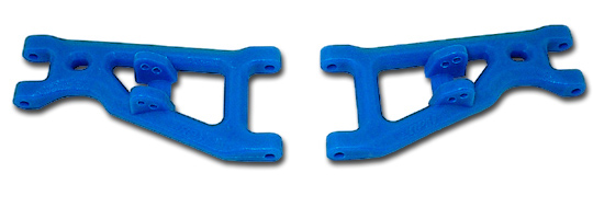 Front Arms for the Assoc. GT, RC10T, & T2 - Blue