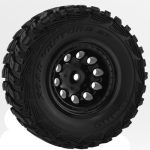 Black Revolver Short Course Wheels - Slash 2wd Ft.