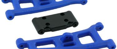 Assoc. SC10GT, GT2, T4* & SC10* Front A-arms – Blue