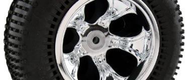 Bully Chrome Nitro Front Wheels