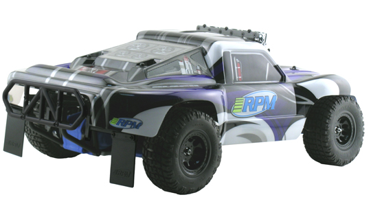 Black Rear Bumper for the Traxxas Slash 2wd
