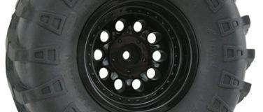 Black Revolver Rock Crawler Wheels – Wide Wheelbase