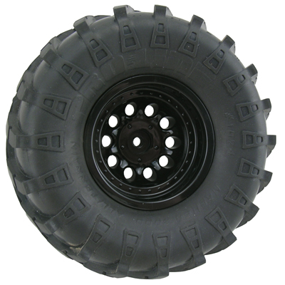 Black Revolver Rock Crawler Wheels - Wide Wheelbase