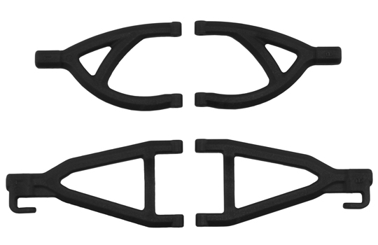 Rear A-arms for the Traxxas 1/16th Scale Mini E-Revo - Black