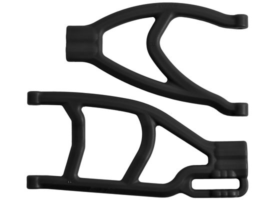 Summit, Revo & E-Revo Extended Right Rear A-arms - Black