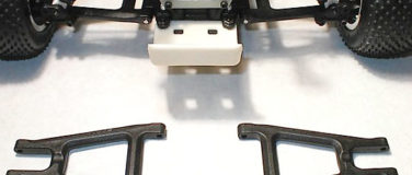 Rear Arms for the Assoc. GT, RC10T, & T2 – Black
