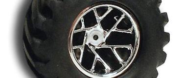 Slingshot Chrome Rear Wheels