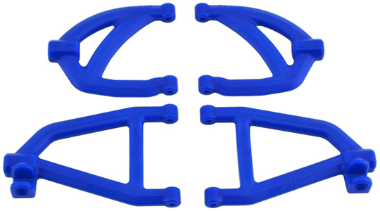 Rear A-arms for the 1/16th Scale Slash 4x4 - Blue