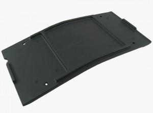 Black Savage-X Center Skid / Protector Plate