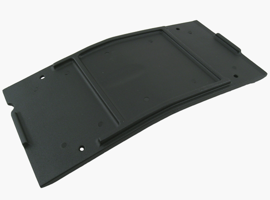 Black Savage-X Center Skid / Protector Plate