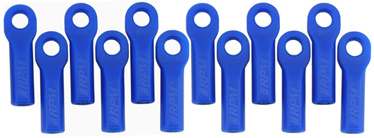 Traxxas Long Rod Ends - Blue