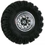 Chrome Revolver Rock Crawler Wheels - Narrow Wheelbase