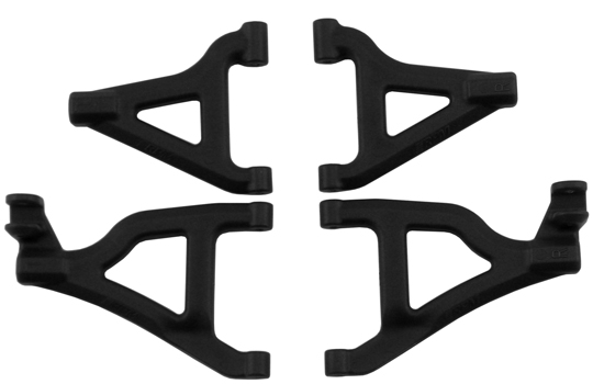 Front A-arms for the 1/16th Scale Slash 4x4 - Black