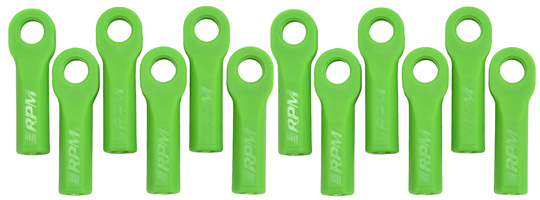 Traxxas Long Rod Ends - Green